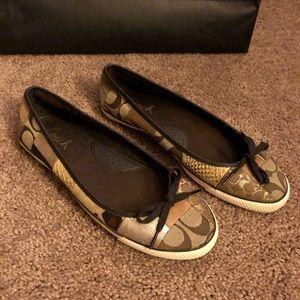 Flat Coach Shoes